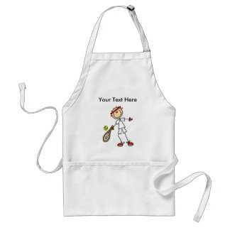 Personalized Men's Tennis Gifts Aprons