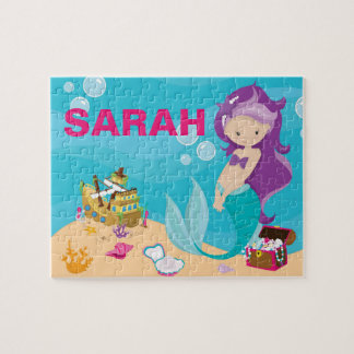 Personalized Mermaid Puzzle