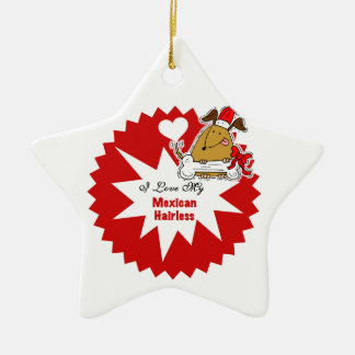 Personalized Mexican Hairless Keepsake Ornament