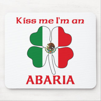 Personalized Mexican Kiss Me I'm Abaria Mouse Pad