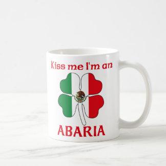 Personalized Mexican Kiss Me I'm Abaria Mug