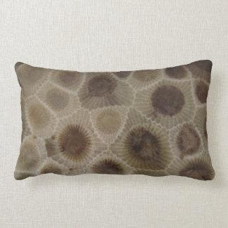 Personalized Michigan Petosky Stone Lumbar Cushion