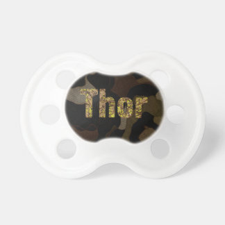 Personalized Military Camouflage Font Thor Dummy