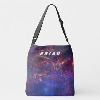 Personalized Milky Way Galaxy Space Tote Bag