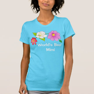 Personalized Mimi Gifts Pretty Turquoise Shirt