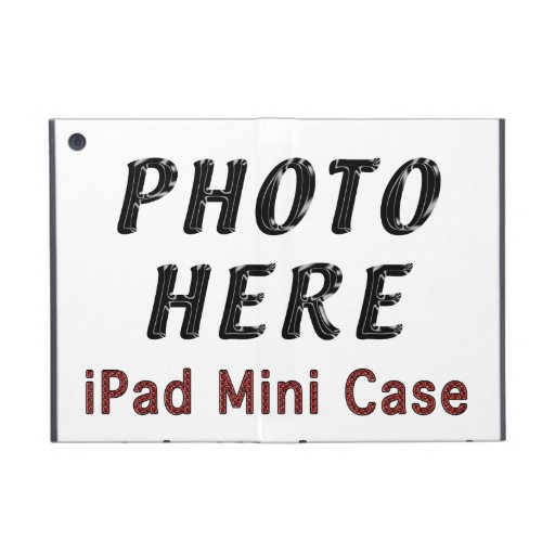 Personalized Mini iPad Cases with YOUR PHOTO