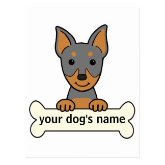 Personalized Miniature Pinscher Postcard