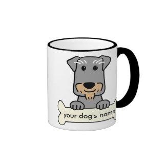 Personalized Miniature Schnauzer Coffee Mugs