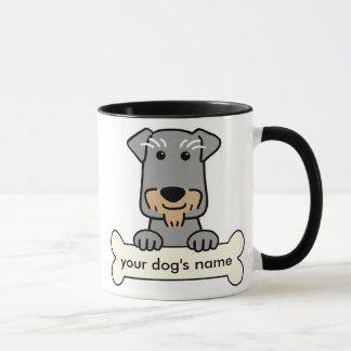 Personalized Miniature Schnauzer Mug