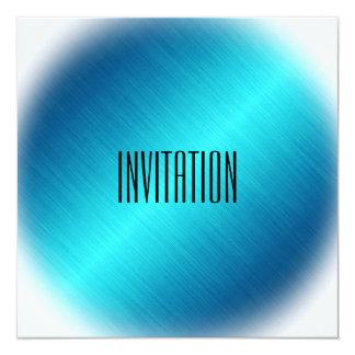 Personalized Minimal Blue Marine Chic Invitation