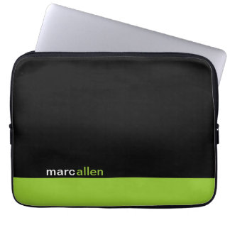 Personalized Modern 519 Laptop Computer Sleeves