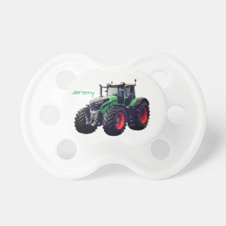 Personalized Modern Green Farm Tractor Dummy