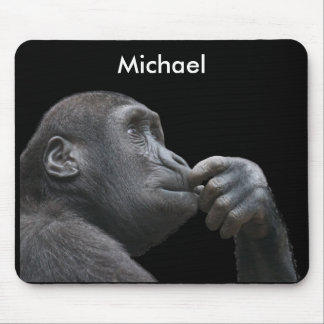Personalized Monkey Business Mouse Mat