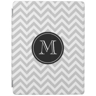 Personalized monogram chevron pattern Ipad cover