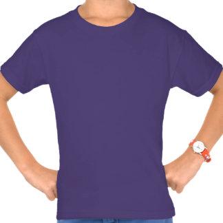 Personalized Monogram Initial Confetti Purple Shirts