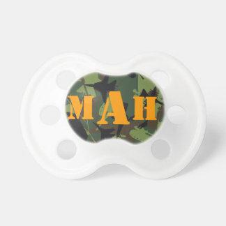 Personalized Monogram Name Military Camouflage Dummy