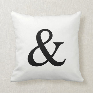 Personalized Monogram Pillow | Ampersand