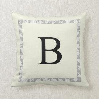 Personalized Monogram Pillow | Initial B
