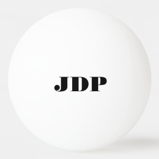 Personalized monogram ping pong balls Ping-Pong ball