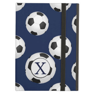 Personalized Monogram Soccer Balls Sports Case For iPad Air