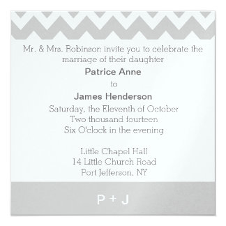 Personalized Monogram Wedding Invitations