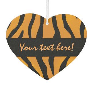 Personalized Monogram Wild Thing Tiger Stripes Car Air Freshener