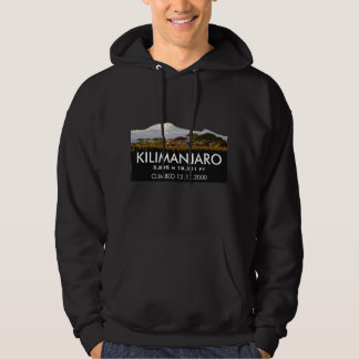 Personalized Mount Kilimanjaro Climb Commemorative Hoodie