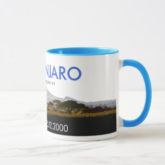Personalized Mount Kilimanjaro Climb Commemorative Mug