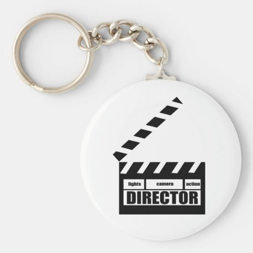 Personalized Movie Director Clapboard Gift Key Chains