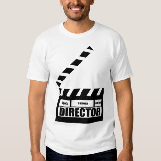 Personalized Movie Director Clapboard Gift Shirts