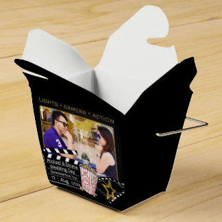Personalized Movie Star Frame Party Favour Boxes