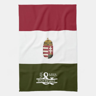 Personalized Mr & Mrs Hungarian Tea Towel