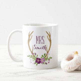 Personalized Mrs. Boho Mug