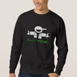 Personalized Music DJ sweatshirt | Add deejay name