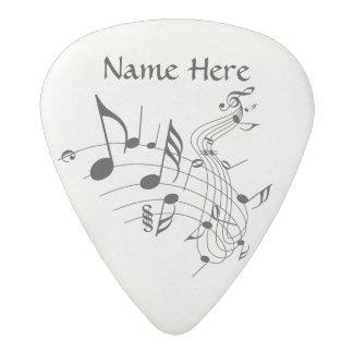 Personalized Music Note Guitar Pick with YOUR NAME Acetal Guitar Pick