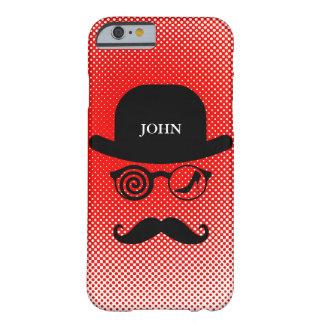 Personalized Mustache Londoner in Love Case