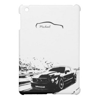 Personalized Mustang Rolling shot Cover For The iPad Mini