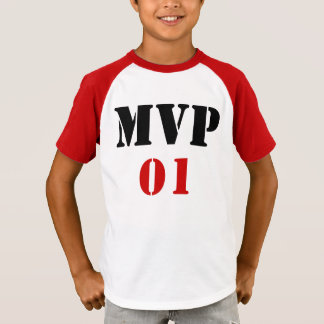 Personalized MVP T-Shirt w/name on back