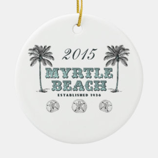 Personalized Myrtle Beach SC Ornament