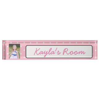 Personalized Name and Photo Name Plate