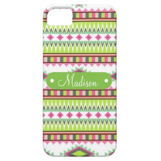 Personalized Name Aztec Andes Tribal Mountains iPhone 5 Covers