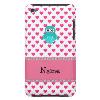 Personalized name cute owl barely there iPod cases