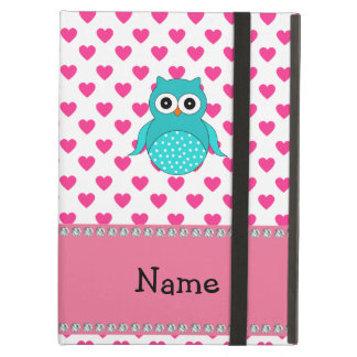 Personalized name cute owl case for iPad air