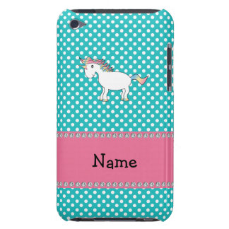 Personalized name cute unicorn iPod touch cover