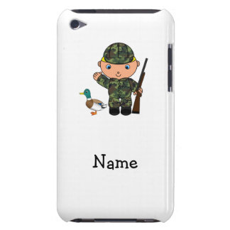 Personalized name duck hunter iPod touch cover