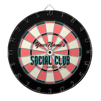 Personalized Name Gameroom Dartboard
