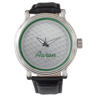 Personalized Name Golf Ball Golfing Watch Gift