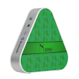 Personalized name green green pickles speaker