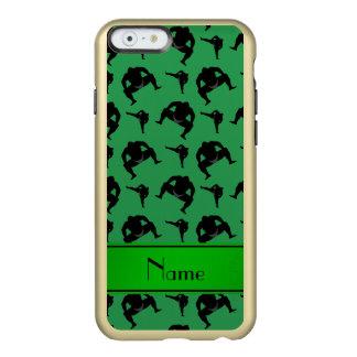 Personalized name green sumo wrestling incipio feather® shine iPhone 6 case