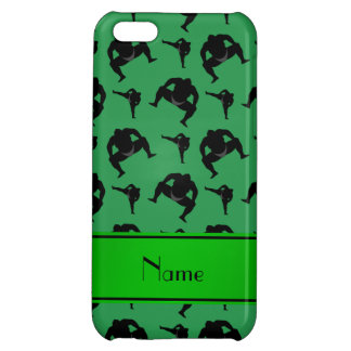 Personalized name green sumo wrestling iPhone 5C cover